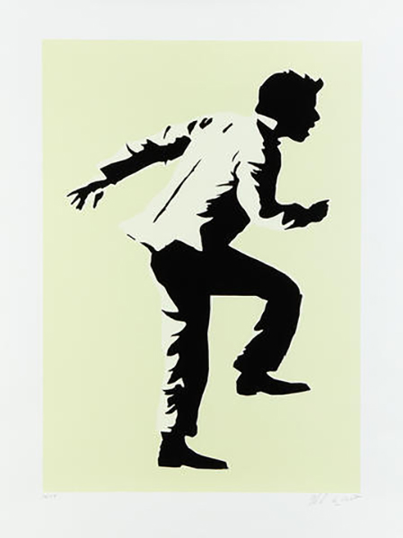 Blek le Rat-Running Man-2008