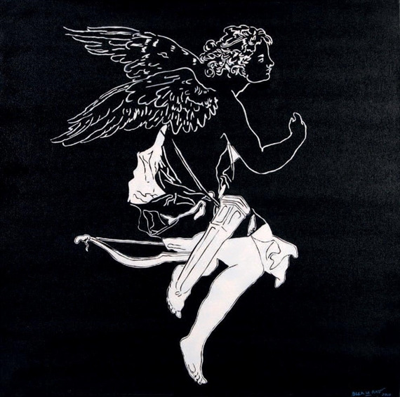 Blek le Rat-Sans Titre (Angel)-2006