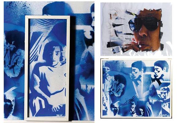Blek le Rat-Sans titre (Andy Warhol's Factory)-