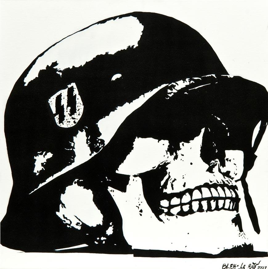 Blek le Rat-Skull-2007