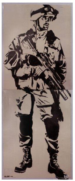 Blek le Rat-Soldat-2003