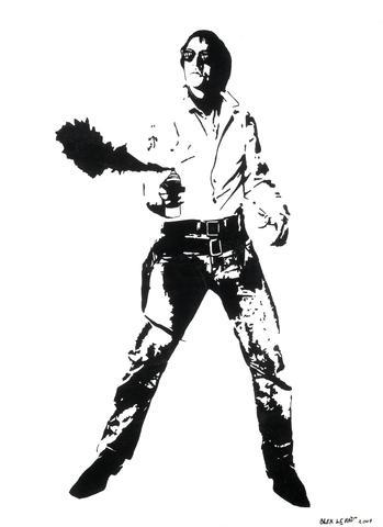 Blek le Rat-Space Cowboy-2007