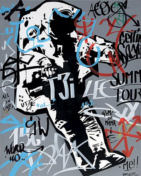Blek le Rat-Spaceman-2006