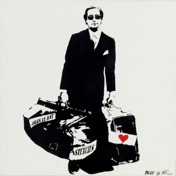 Blek le Rat-The Man Who Walks Through Walls-2007
