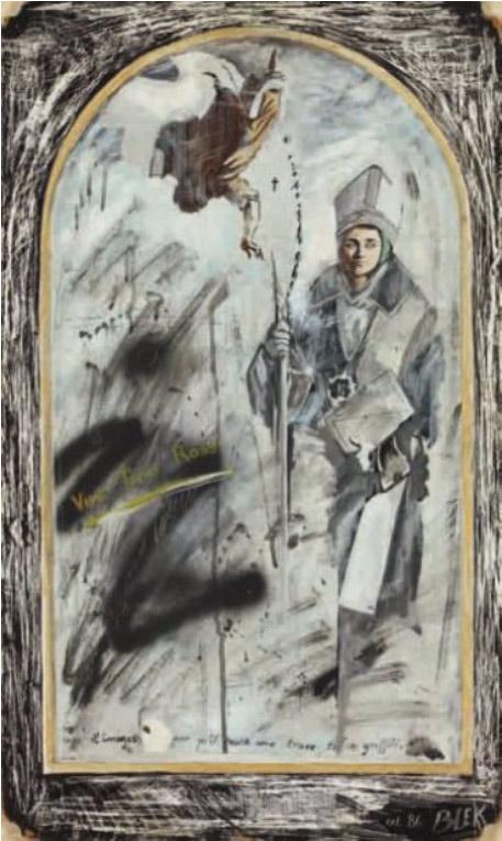 Blek le Rat-Vive Tino Rossi-1986