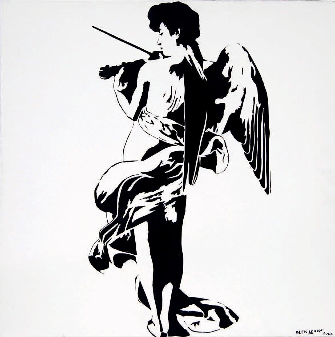 Blek le Rat-Women with Violin-2006