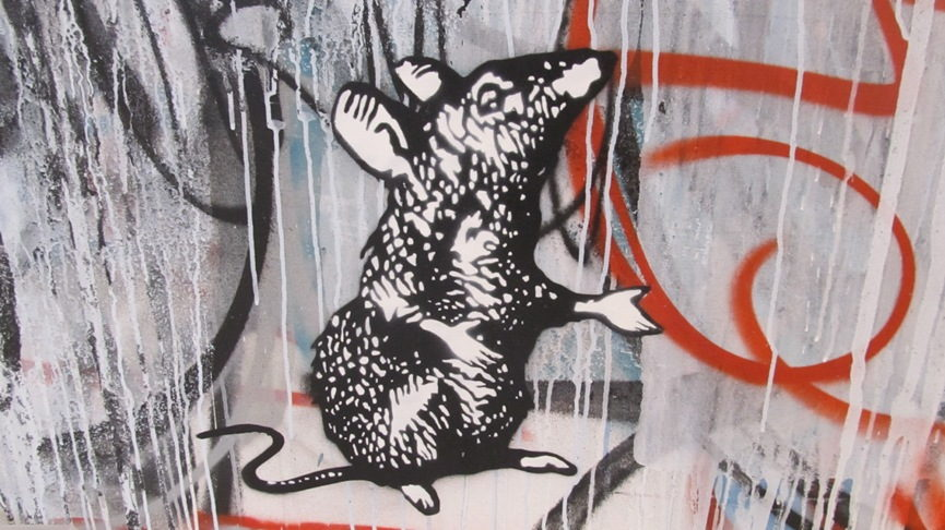 History of Street Art in France work