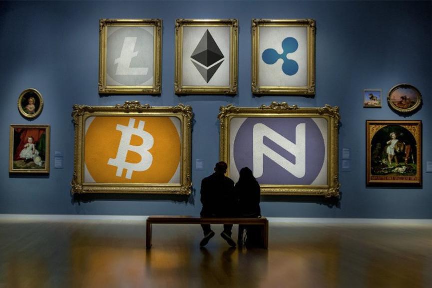 Blockchain art - Image via gigaomcom