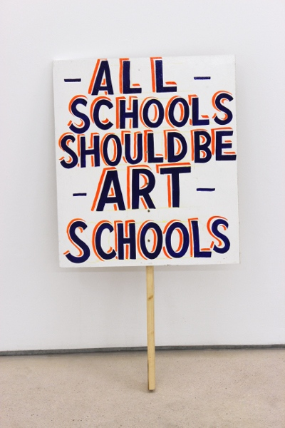 All Schools should be Art Schools, 2012