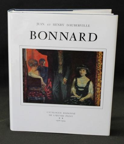 Bonnard - Catalogue of Painted Work (1906-1919), Volume II, by John and Henry Dauberville-