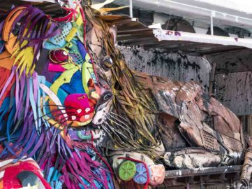 Bordalo II - Lion