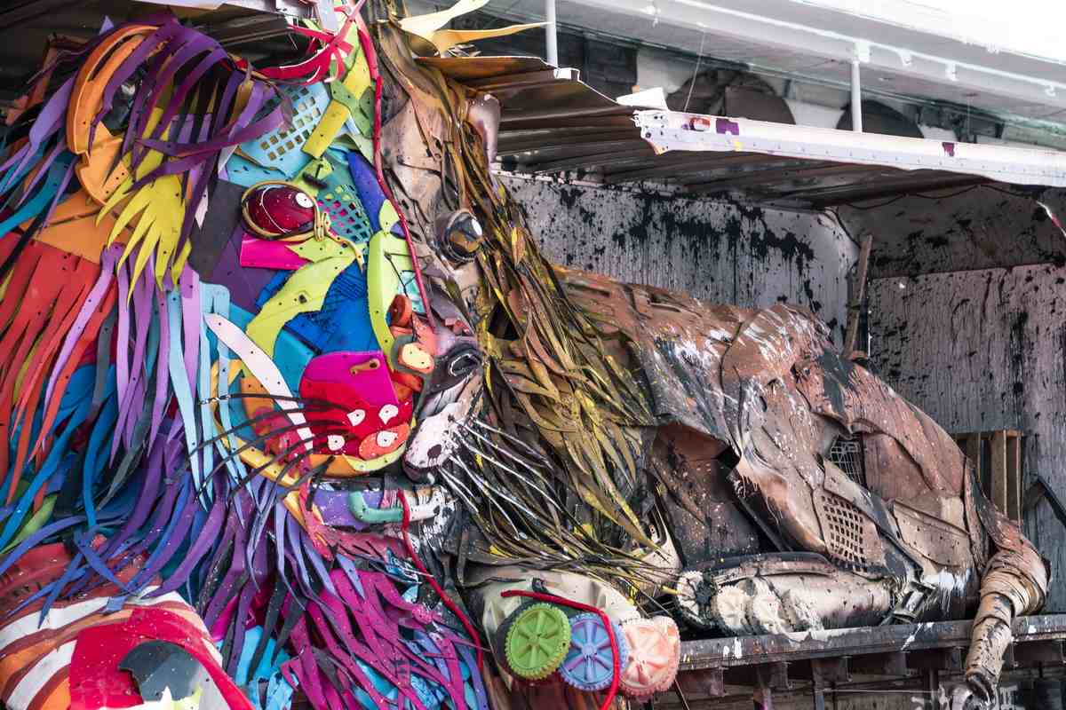 Bordalo II - Lion