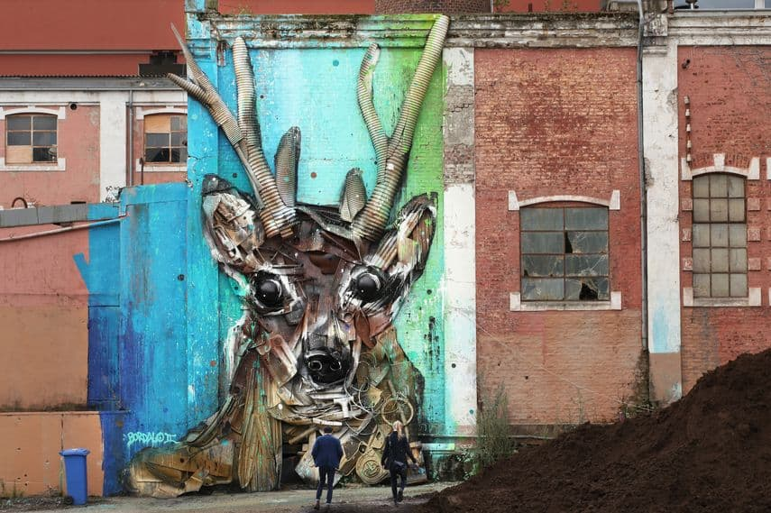 Bordalo II, Nuart 2015; this year aberdeen will welcome street art