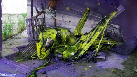 Bordalo II - Space Grasshopper