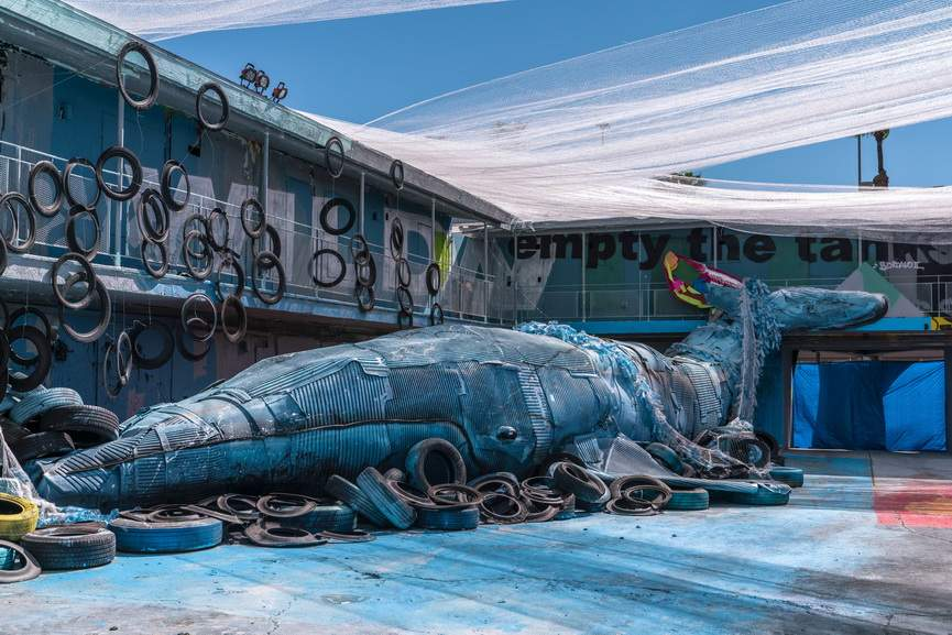 Bordalo II - The Whale