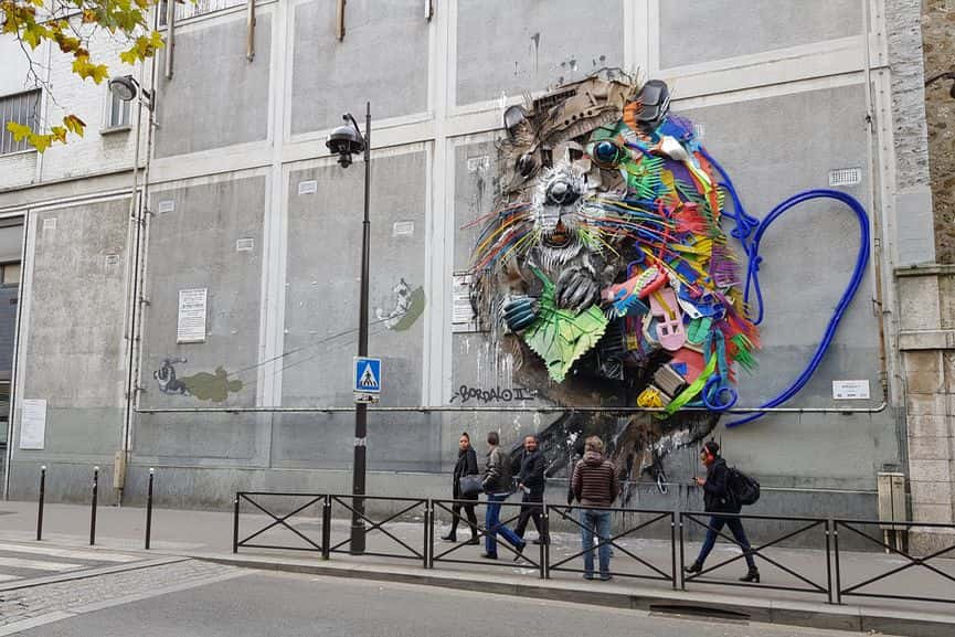Bordalo II in Paris, France
