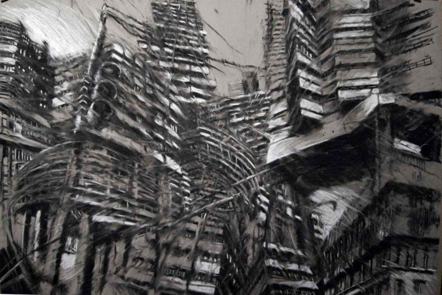 Boris Foscolo, Fusain, Courtesy of Galerie BS