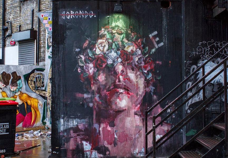 Mural in Shoreditch
