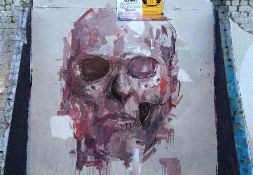 Mural in London