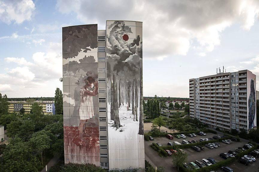 Borondo mural