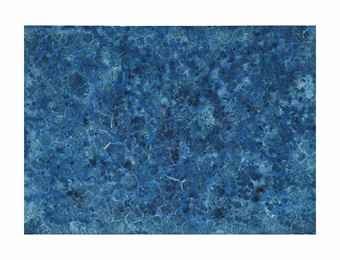 Bosco Sodi-Organic Blue-2009