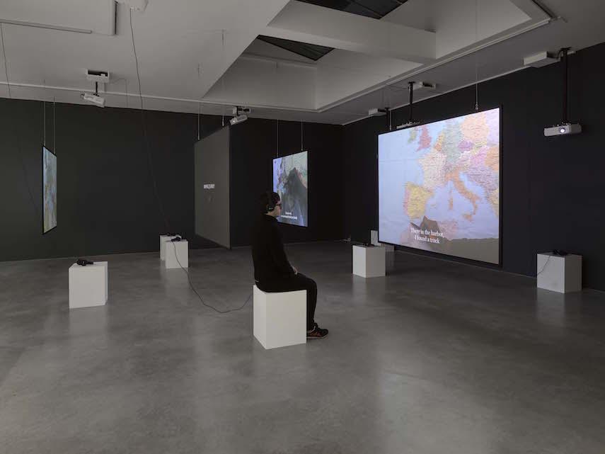 Bouchra Khalili at Lisson Gallery