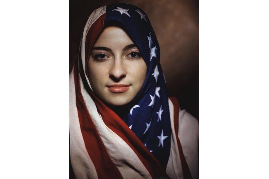 Boushra Almutawakel - Untitled (from The Hijab series), 2001