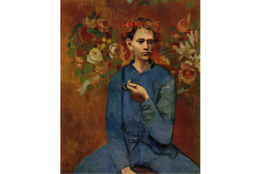 picasso pablo - Boy with a Pipe, 1905 - Image via wikimediaorg