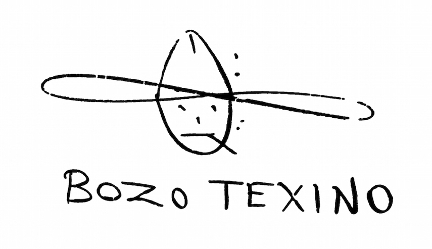 Bozo Texino Graffiti, Image courtesy of Bill Daniel