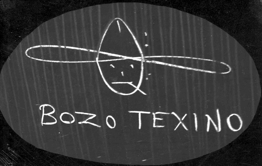 Bozo Texino, Image courtesy of Bill the train painter, who will present a film tour