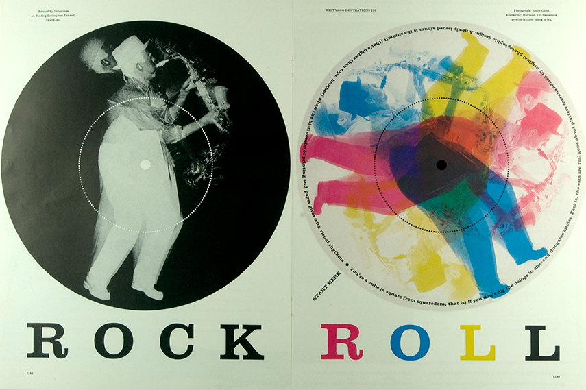 Bradbury Thompson - Rock Roll, 1958 designed directors books