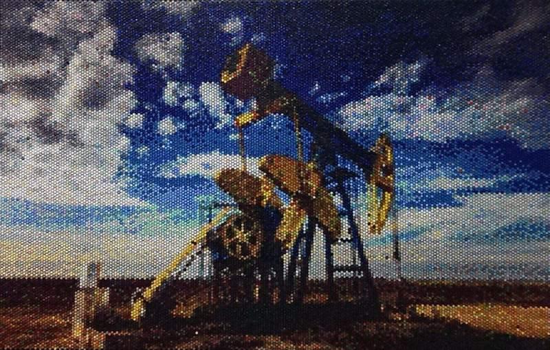 Bradley Hart - Oil Rig, 2013