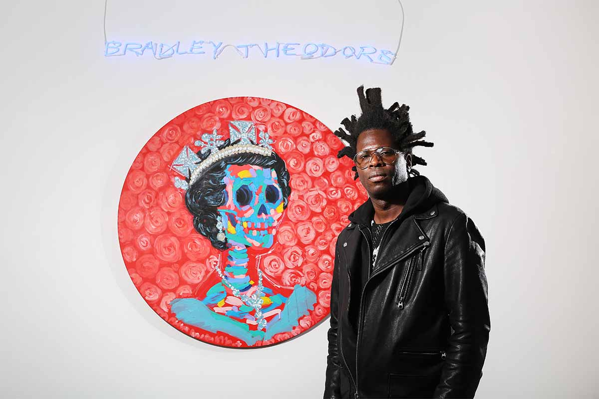 Bradley Theodore Interview news 2015 artist new work york news