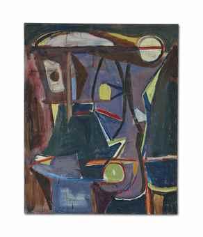 Bram van Velde-Sans titre (Untitled)-1952