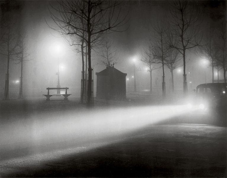 Avenue de l'Observatoire in the Fog, ca 1937