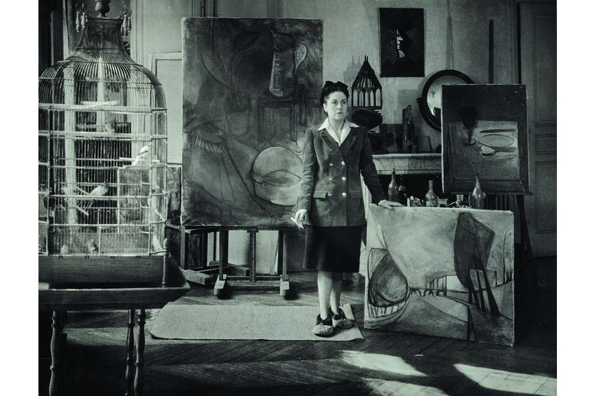 Brassaï - Dora Maar dans son atelier, 1943