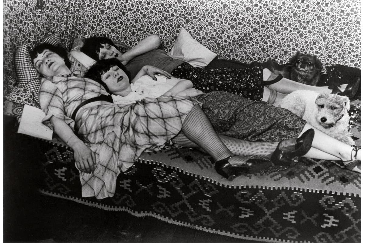 Brassaï - Kiki de Montparnasse and her Friends, Therese Treize and Lily, ca. 1932 at SFMOMA in 2018