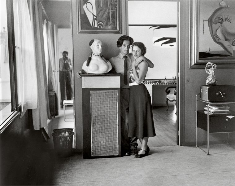 Brassaï - Salvador Dali and Gala, Villa Seurat, Paris, 1932-33, printed posthumously