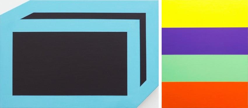 Brent Hallard - Mailer (blue and black), 2010 - Landed, 2014