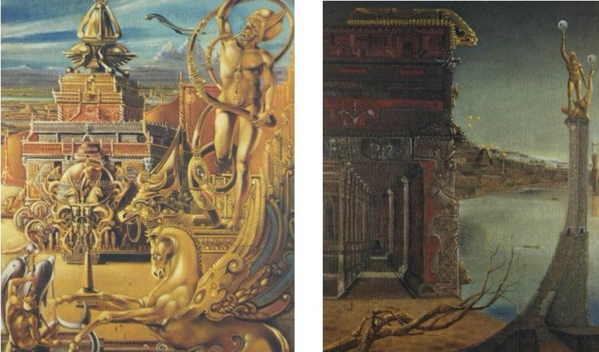 Brero Dovilio - Atlan Temple (Left) / Atlan Particular (Right)