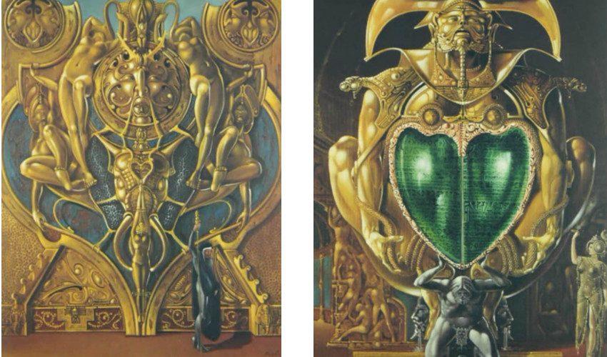Brero Dovilio - Big Elephant Portal (Left) / The Tables of Emerald (Right)