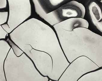 Brett Weston-Mud Cracks, California-1969