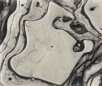 Brett Weston-Rock Forms, California-1952