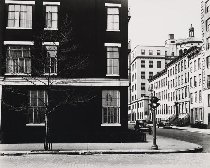 Brett Weston-Street Corner, New York-1944