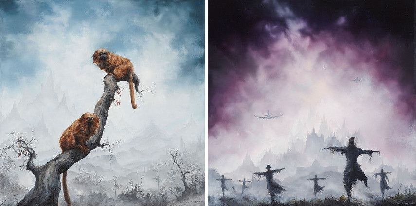 Brian Mashburn - Tamarins (Left) Strawmen 2014