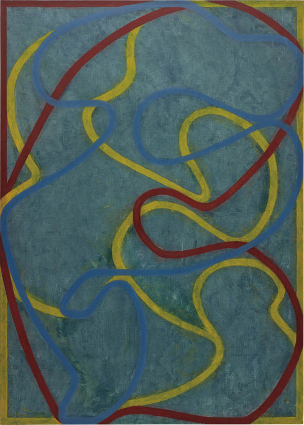 Brice Marden-Elements (Hydra)-2001