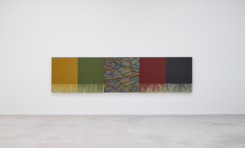 Brice Marden - New Paintings, solo show at Matthew Marks Gallery, 2016 search contact home terms smith