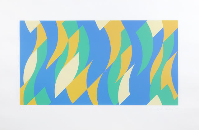 Bridget Riley-Frieze-2000
