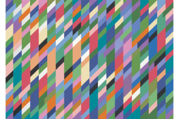 Bridget Riley - High Sky, 1991