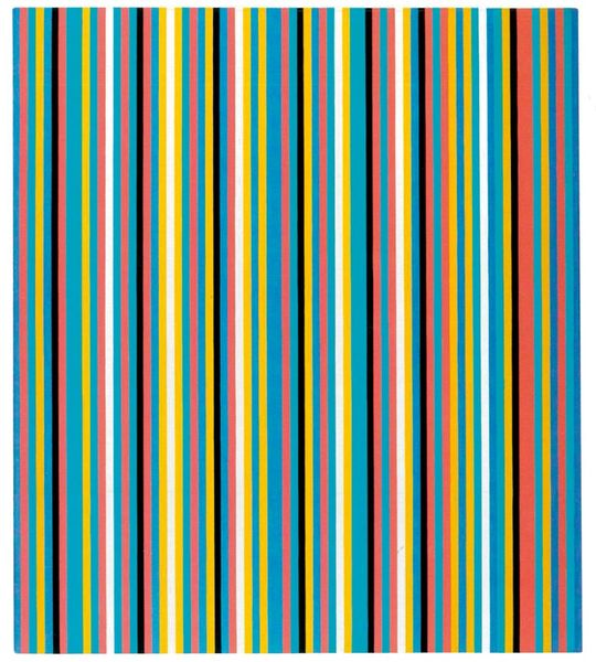 Bridget Riley - Songbird, 1982